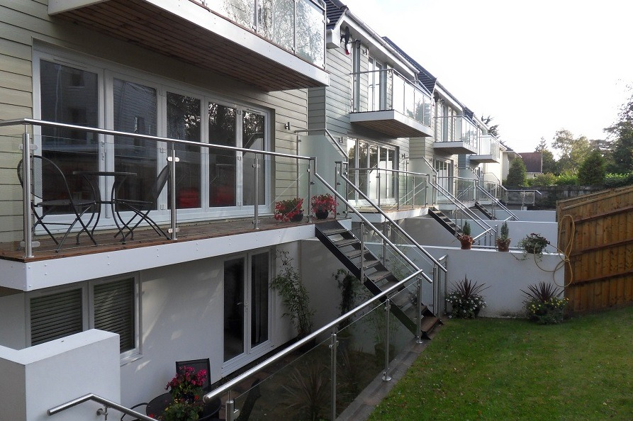 Balcony fitters in bournemouth metal work fabrication for Garden maintenance bournemouth